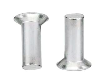 countersunk rivet தட்டையான தலை திட rivet